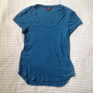 7 For All Mankind short sleeve blue tee XS